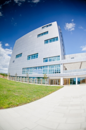 Modern office building with blue sky Stock Photo - 19814819