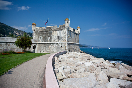bastion: Old Bastion in Menton, France