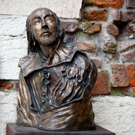 william shakespeare: William Shakespeare statue in Verona, Italy