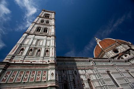 santa maria del fiore: Famous Santa Maria del Fiore cathedral, Duomo by Brunelleschi
