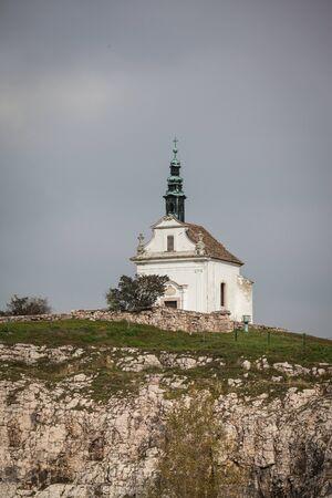 Malý katolický kostel v Tata, Maďarsko