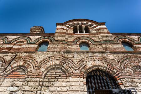 The Church of Christ Pantocrator Orthodox church in Nesebar, Bulgaria Stock Photo