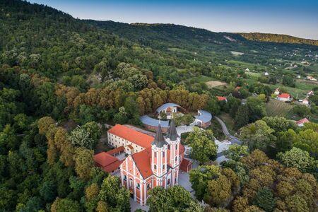 Huge church in Mariagyud, Hungary