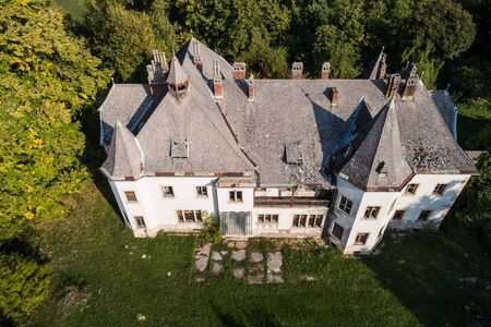 Hoyos castle in Lad, Hungary
