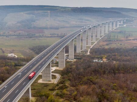 Viaduct of Koroshegy in Hungary