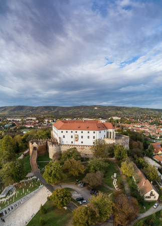 Beautiful castle in Siklos hungary