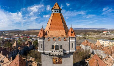 Abandoned army fort in Hajmasker, Hungary
