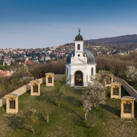 Small chapel in Pecs, hungary, called Kalvaria