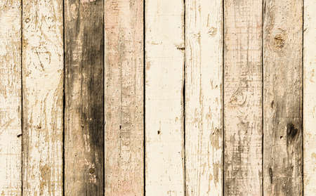 Rustic wood planks with a lot of texture in warm tones.