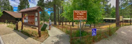 The Coronado National Park tourist information center and ranger station near Tucson, Arizona Sajtókép