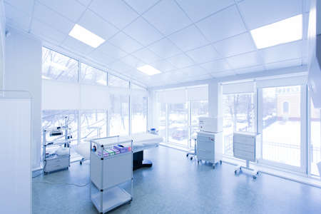 clean office: White medical office with equipment Editorial