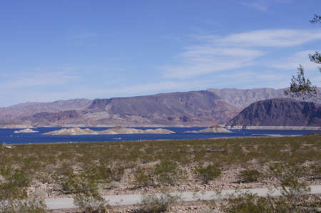 mead: Lake Mead  Stock Photo