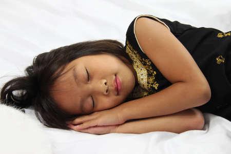 child sleeping photo