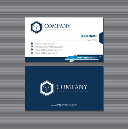 Company Business Card Template with Logo