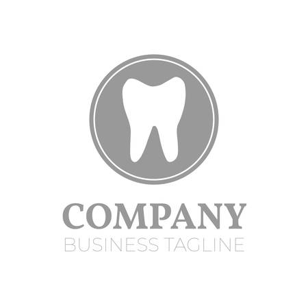 Dentist or Dental Company  with Tooth