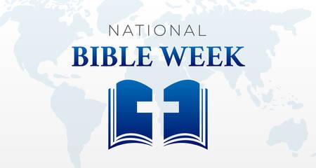 National Bible Week Background Illustration