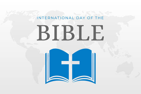 International Day of the Bible Week Background Illustration