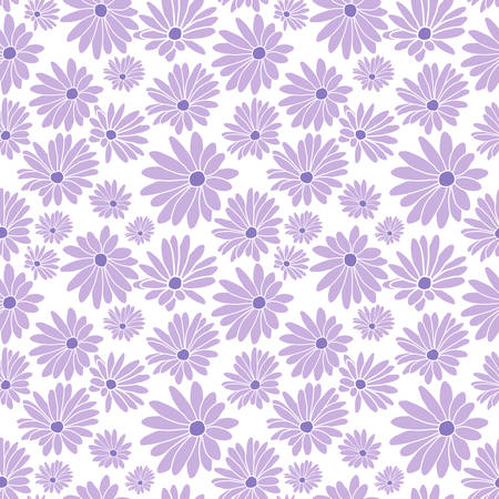 Margaret Flower Floral Textile Repeat Pattern Background 向量圖像