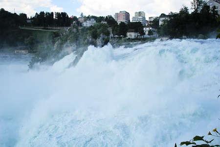 Rhine falls in Schaffhausen, Switzerland Banque d'images