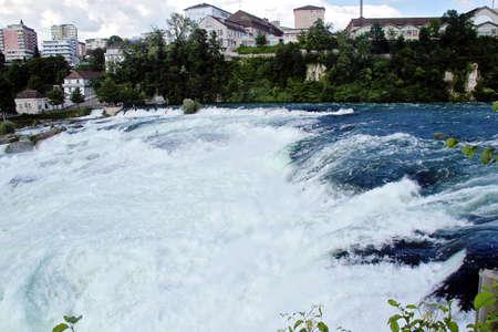 Rhine falls in Schaffhausen, Switzerland