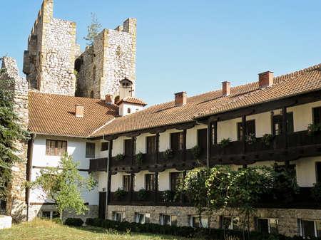 Orthodox Monastery Manasija in Serbia