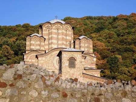 Monastery Ravanica in Serbia