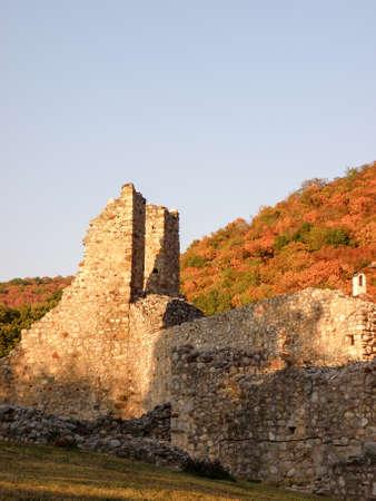 Castle Ruins at Autumn