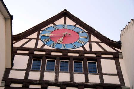 Tower Clock in Stein am Rhein
