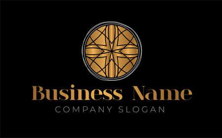 Gold Luxury Logo Design Template
