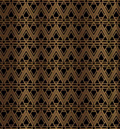 Art Deco Geometric Pattern Design