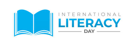 International Literacy Day Logo Icon Isolated