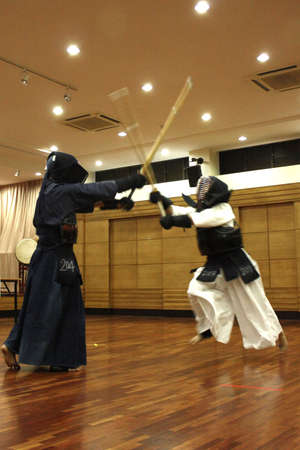 ancient tradition: Kendo -  Japanese martial art