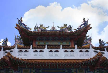 godliness: Chinese Temple, Malaysia Stock Photo