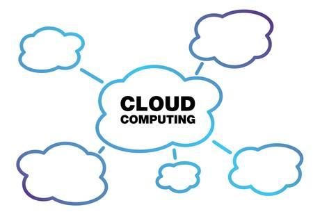 Cloud computing concept design Stock Vector - 9933380