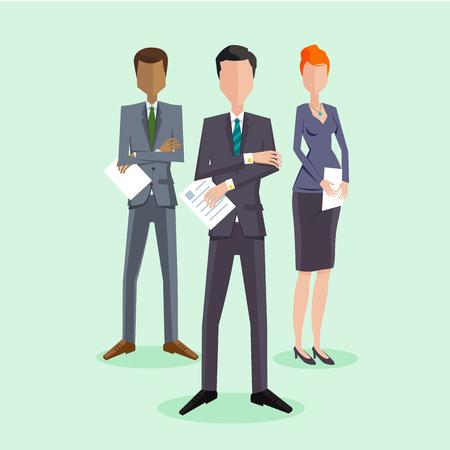 mensen groep: Business People Group Stock Illustratie