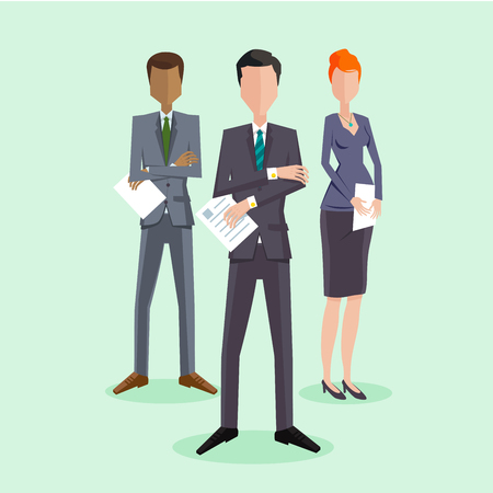 Business People Group Illustration