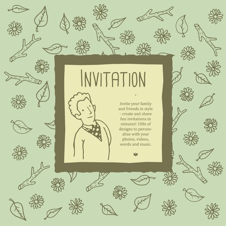 flower age: invitation
