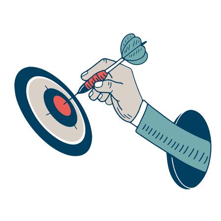 dart hand
