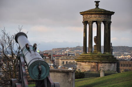 Edinburgh cannon