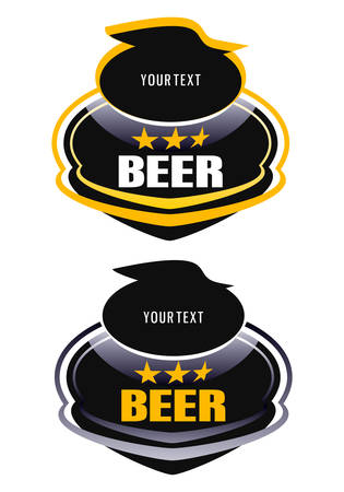 beer for the design element Vector