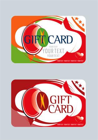 gift card design for shopping