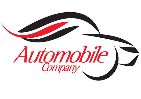 company logo: special logo for car company on background
