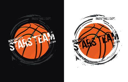 legendary: Basketball design- vector illustration for t-shirt