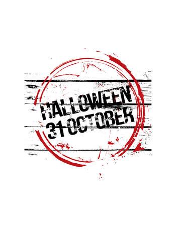 stempel: Halloween stemple.