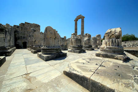 The Temple of Apollo at Didyma, Turkey  版權商用圖片
