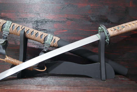 scabbard: Katana samurai sword