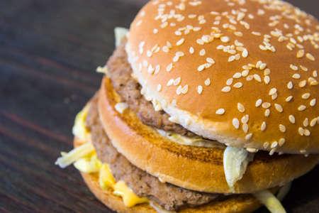 junk: A juicy Burger