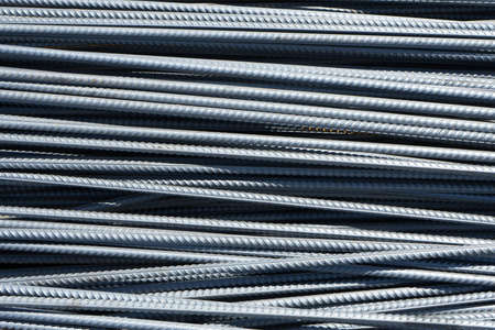 Reinforcement for the manufacture of concrete structures and foundations.
