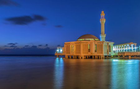 A mosque by the sea