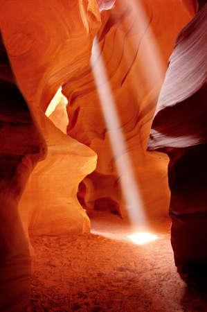page arizona: Antelope Canyon, near Page, Arizona Stock Photo